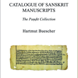 Catalogue of Sanskrit Manuscripts