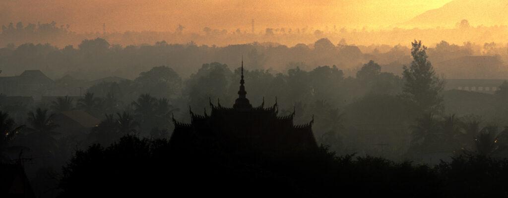 Dawn over Champasak